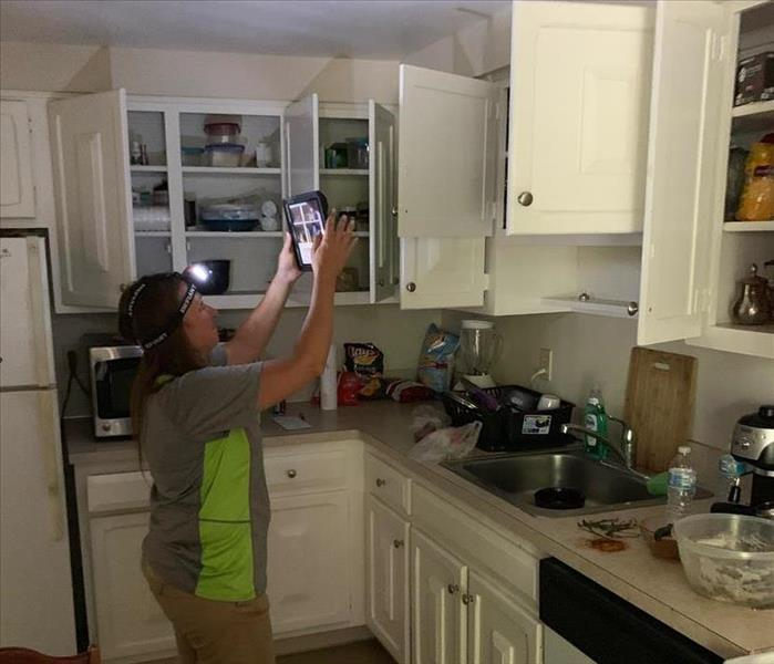 SERVPRO of Southern Cuyahoga County Project Manage uses iPads and software on contents